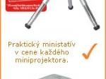 AKCIA: praktický ministatív ku každému miniprojektoru.