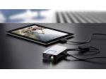 Pripojiteľnosť tabletu iPad je zabezpečené cez voliteľný prídavný kábel