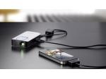 Voliteľný prídavný kábel PPA1160 pripojí váš iPhone k vreckovému projektoru PPX 2340